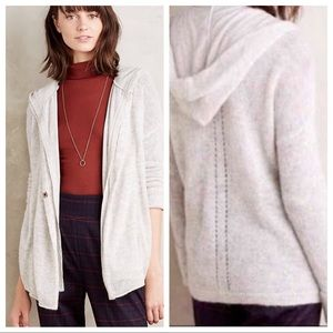 Anthropologie gray cardigan by Moth